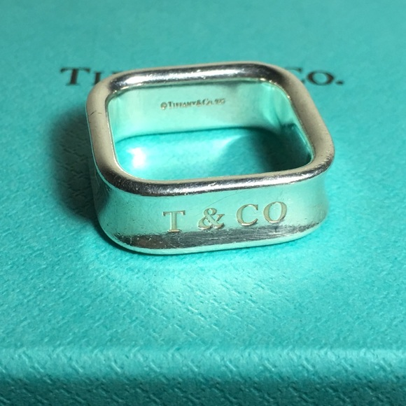 5f195986a Tiffany & Co. Jewelry | Retired Tiffany Co 1837 Collection Square ...